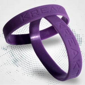 Bracciale in silicone incisione personalizzata