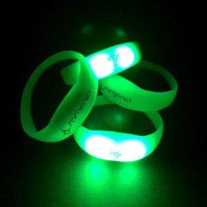 Braccialetti personalizzati luminosi