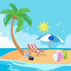 Gadget da spiaggia Personalizzati